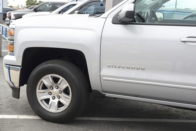 Chevy Silverado - PHOTO VIA SHUTTERSTOCK