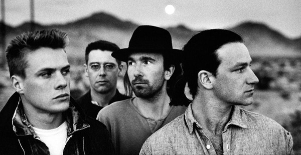 U2, FROM THE PHOTO SESSIONS FOR 'THE JOSHUA TREE.' COURTESY PHOTO.