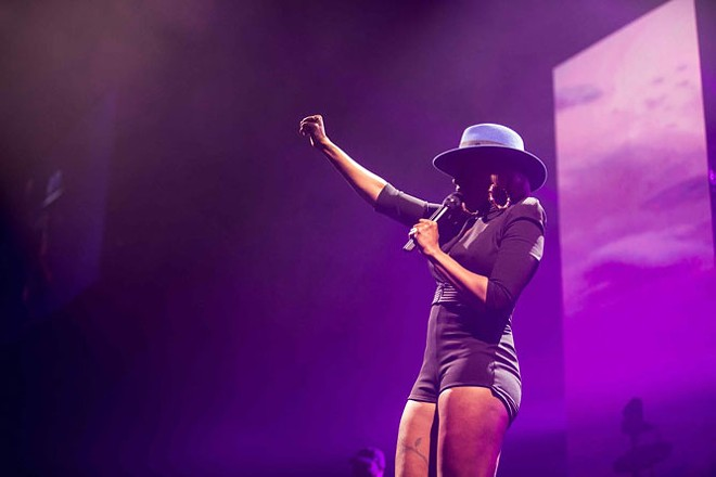 Mary J. Blige plays the Michigan Lottery Amphitheatre at Freedom Hill in Sterling Heights on Tuesday, Aug. 1. - COURTESY PHOTO