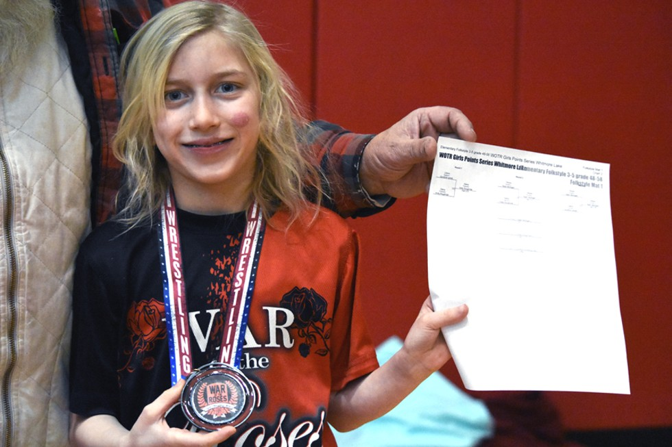 At 8 years old, Olesya Mullins is already racking up victories. - RACHEL TIMLIN
