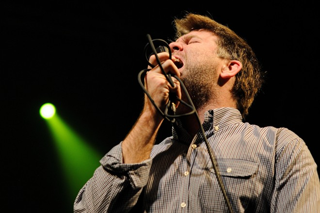 James Murphey of LCD Soundsystem. - SHUTTERSTOCK