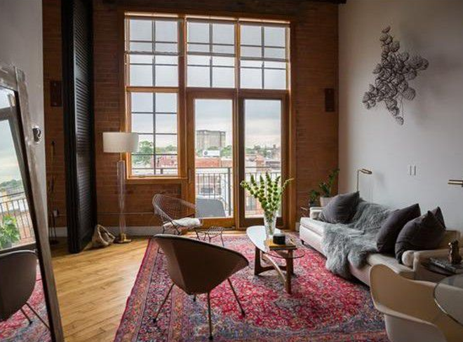 This 1,500 square foot Corktown loft is selling for $695,000. - REALTOR.COM