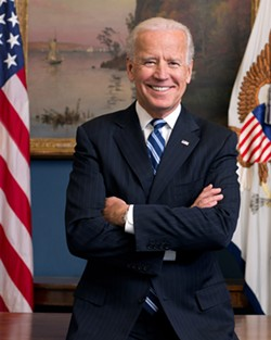 Majestic man Joe Biden - COURTESY PHOTO