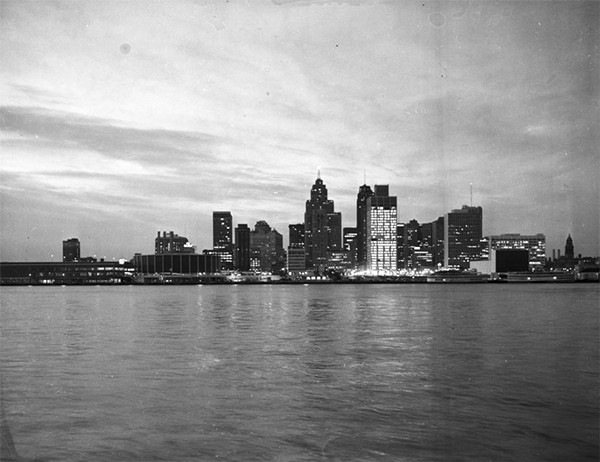 Detroit, 1966. - WALTER  P.  REUTHER  LIBRARY, ARCHIVES  OF  LABOR  AND  URBAN  AFFAIRS, WAYNE  STATE UNIVERSITY