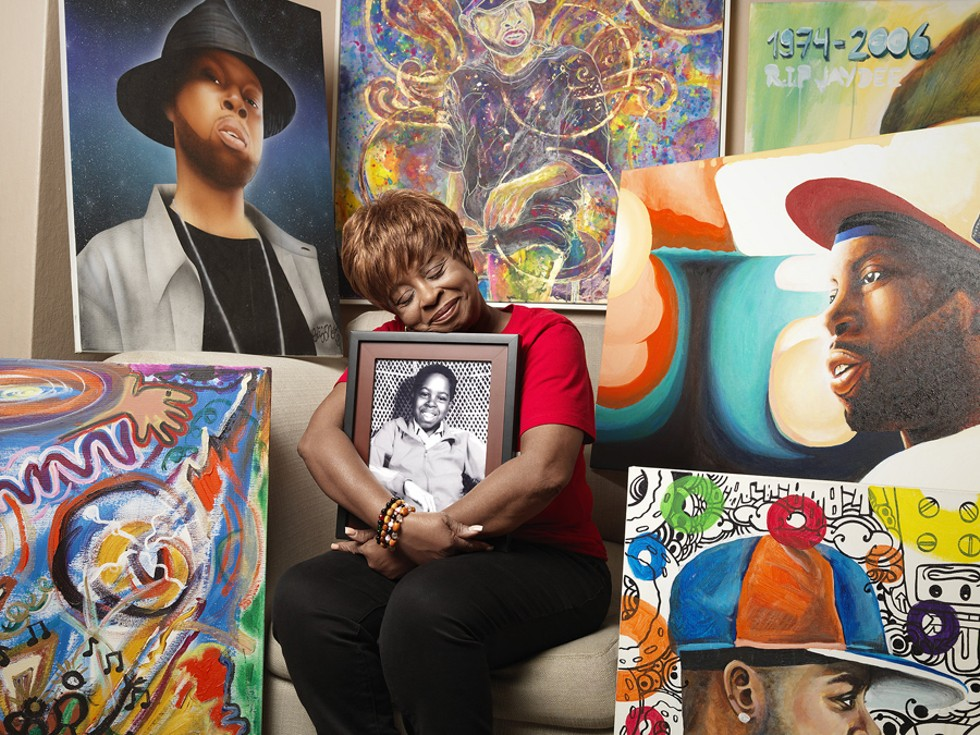 "Maureen ""Ma Dukes"" Yancey, mother of the late Jay Dee (J Dilla). - JENNY RISHER"