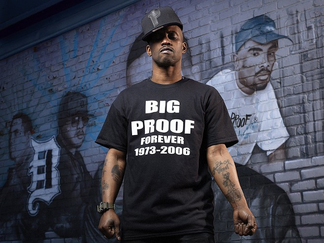 Supa Emcee in a tribute to Proof. D-Cyphered is dedicated to the late rapper. - JENNY RISHER