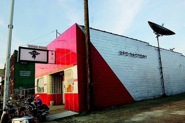UFO Factory. - FACEBOOK