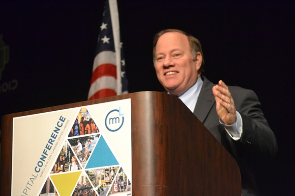 Detroit Mayor Mike Duggan. - FLICKR, MICHIGAN MUNICIPAL LEAGUE