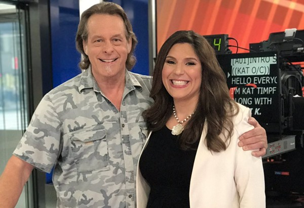 Ted Nugent and Lena Epstein. - TWITTER