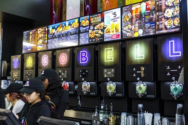 Taco Bell Cantina in Las Vegas circa December 2016. Photo via Shutterstock.