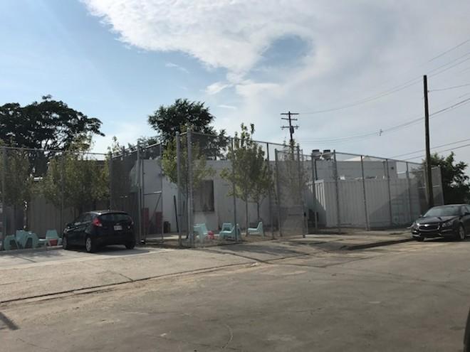 """The """"welcoming"""" enclosure at Takoi. - MT PHOTO"""
