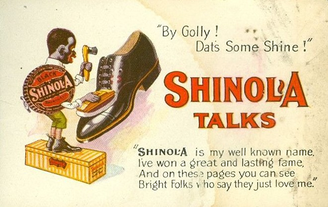 OLD SHINOLA AD AS SEEN ONLINE