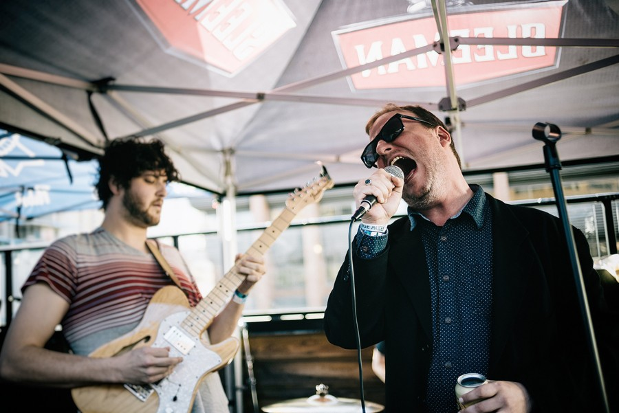 Protomartyr performing at the Sled Island music festival in Calgary. - LEVI MANCHAK, FLICKR CREATIVE COMMONS