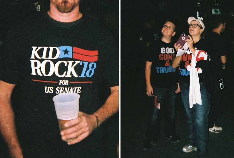 Kid Rock fans. - LEE DEVITO