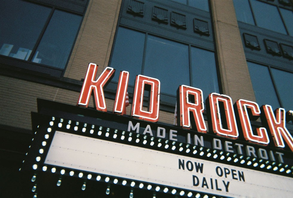 Kid Rock's Made in Detroit restaurant located within Little Caesars Arena. - LEE DEVITO