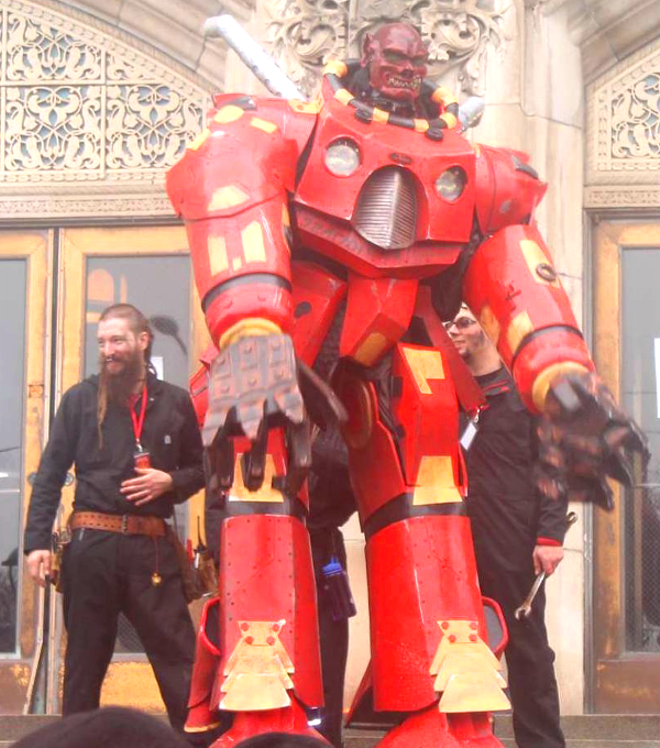 The fearsome Nainbot will help enforce tonight's fun. - COURTESY MAKERS IN THE RAW