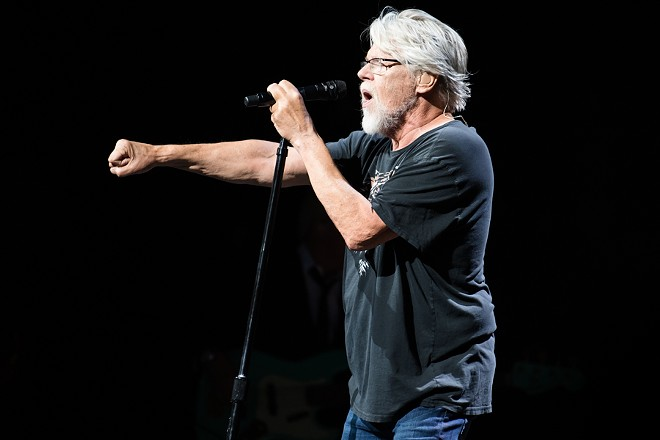 Bob Seger performing at the Palace. - MIKE FERDINANDE