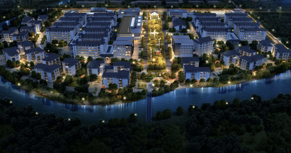 A rendering of the proposed International Village. - COURTESY PHOTO