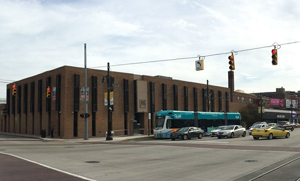 Metro Times's soon-to-be new home, the Arnold E. Frank Building in Midtown. - LEE DEVITO