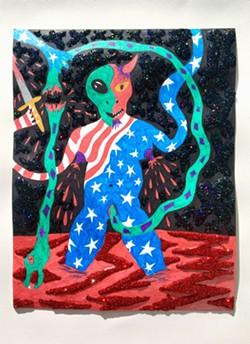 """The Alien Devil Cut Up The Snake Baby"" - BAILEY SCIESZKA"
