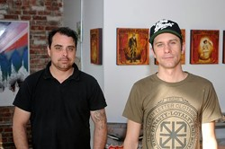 Jesse Cory and Dan Armand in 2013. - CURTIS MCGUIRE
