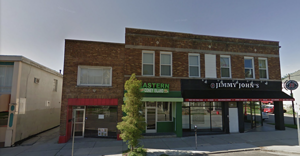 533 W. Cross St. is the center business. - STREETVIEW