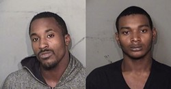 Aaron Rashard Stewart, 22, and Quentin Davon Flemons, 19, were believed to be behind the recent abductions of two cyclists in their twenties near the Detroit-Hamtramck border. - WAYNE COUNTY SHERIFF'S OFFICE