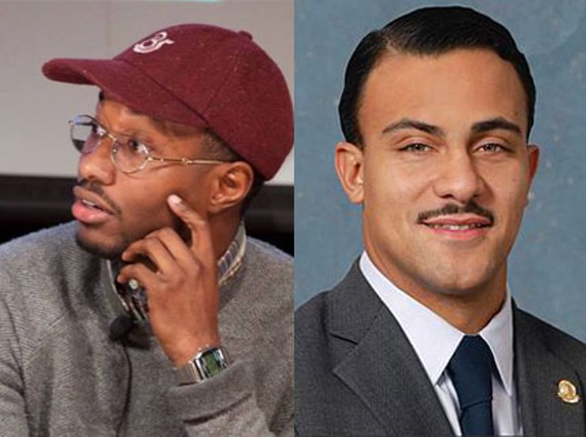 John Conyers III, left, and Ian Conyers, right. - FACEBOOK/WIKIMEDIA COMMONS