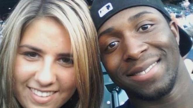 Glenn Doss Jr. and his girlfriend, Emily. - GOFUNDME