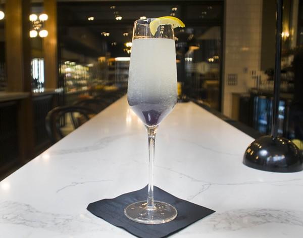 A cocktail at Eatori. - TOM PERKINS
