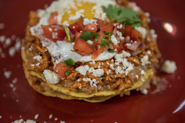 Chilaquiles. - COURTESY OF SHAWN LEE