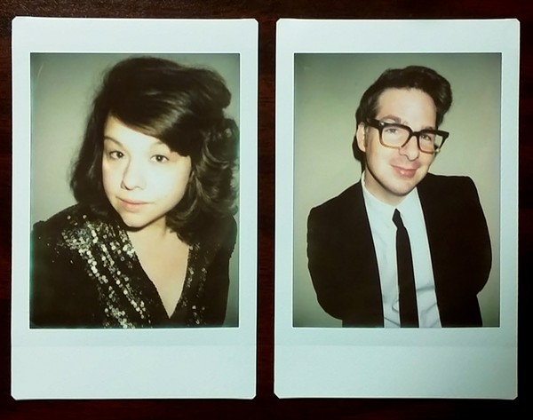 Ash Nowak and Jon Dones. - PHOTOS COURTESY OF HAUTE TO DEATH
