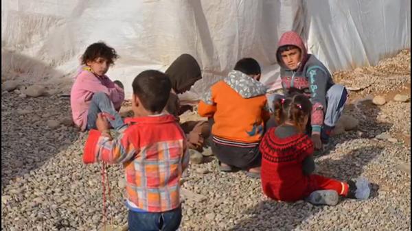 Iraqi orphans and refugees - COURTESY OF IMAN JASIM