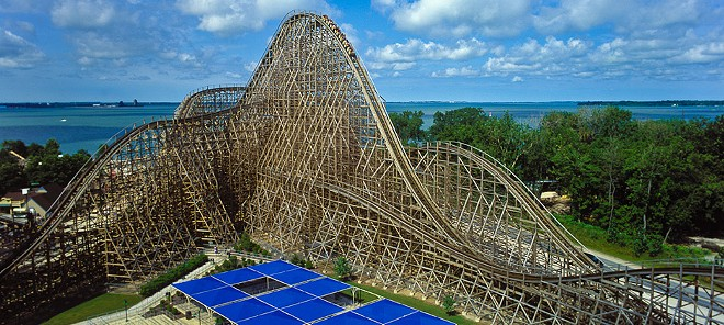 "Mean Streak replaced with new hybrid coaster ""Steel Vengeance"" - PHOTO VIA CEDAR POINT"