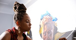 Detroit artist Sydney James is set to debut her first solo show