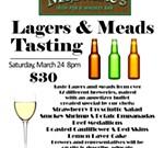 Lagers & Meads Beer Tasting