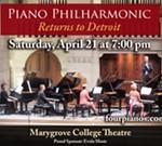Walt Matzke's Four Pianos Returns to Detroit