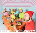 The Crampton Brothers Album Release Party wsg Midnight Gold & Wail