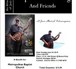 An Afternoon of Jazz with Ralphe Armstrong & Friends to Benefit Metropolitan Baptist Church