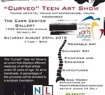 """Curved"" Teen Art Show"
