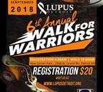 Lupus Detroit 6th Annual Walk For Warriors