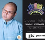 Stavros Halkias at the Motor City Comedy Festival