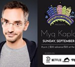 Myq Kaplan at the Motor City Comedy Festival