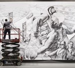 """Detroit: Crossroad Of Innovation"" Fresco Unveiling"