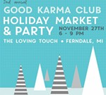 Good Karma Club – HOLIDAY MARKET + PARTY