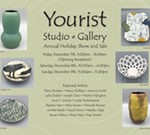 Yourist Studio Gallery Annual Holiday Show and Sale