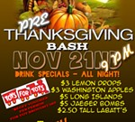 Pre-Thanksgiving Bash