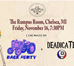 Back Forty + Deadicated at the Rumpus Room