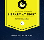 Library at Night Tour
