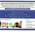 Great Lakes Depression Glass Show And Sale